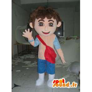 Mascot Diego - kvalitet Disguise - MASFR001179 - Dora og Diego Mascots