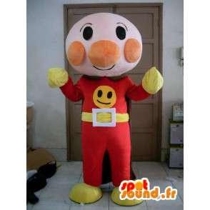 Mascot Superhelden Raum - Disguise alle Größen - MASFR001181 - Superhelden-Maskottchen