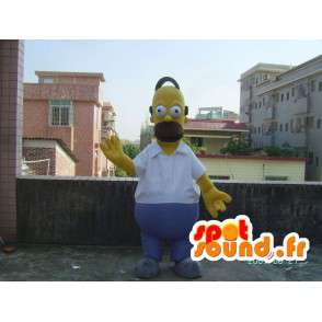Kostuum mascotte Homer Simpson - Simpson Familie - MASFR00502 - Mascottes The Simpsons