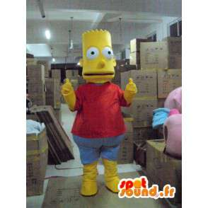 Mascot Bart Simpson - The Simpsons in disguise - MASFR00155 - Mascots the Simpsons