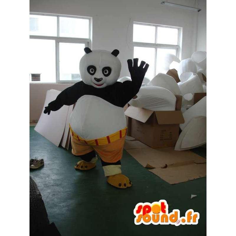 Kungfu Panda Mascot - berømt panda drakt med tilbehør - MASFR001215 - Mascot pandaer