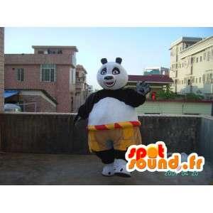 カンフーパンダのマスコット-アクセサリー付きの有名なパンダの衣装-MASFR001216-パンダのマスコット