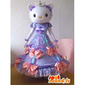 Hello Kitty kostyme - liten mus Costume lilla kjole