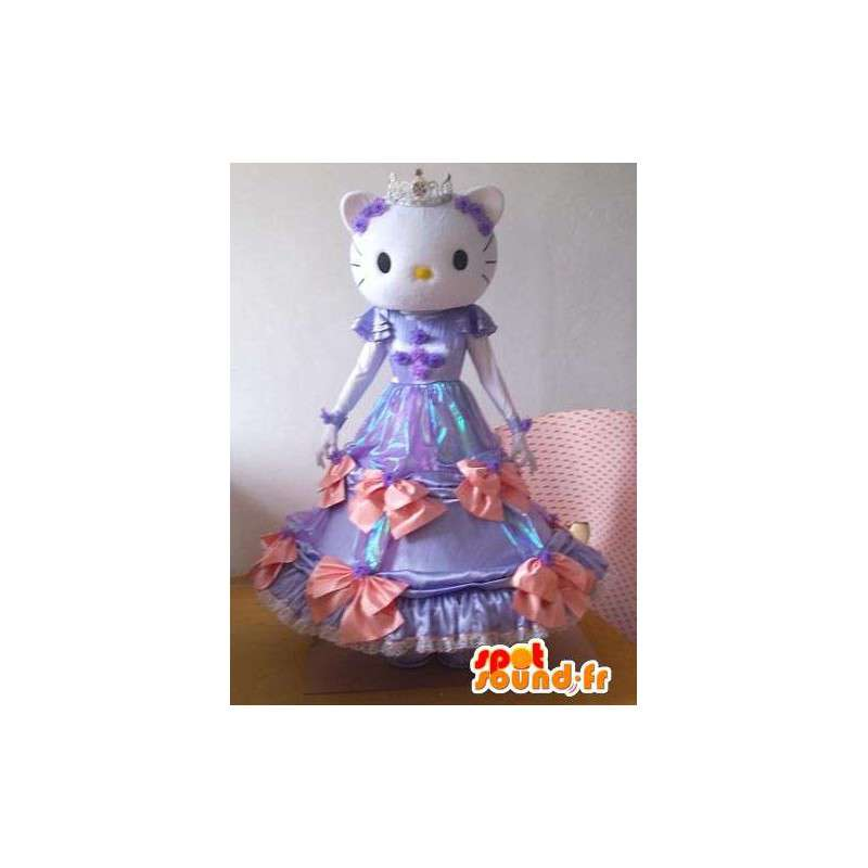 Hello Kitty Costume - Disguise little mouse in purple dress - MASFR001217 - Mascots Hello Kitty