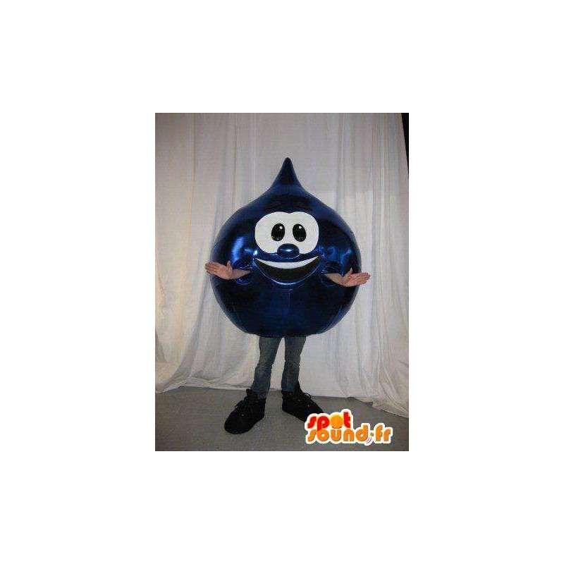 Mascot Tropfen blaues Marineöl - alle Größen - MASFR001433 - Maskottchen nicht klassifizierte