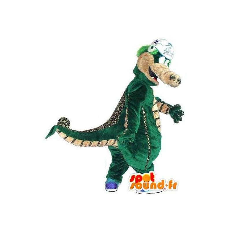 Lezard mascot Denver - Dinosaurus all sizes - MASFR001493 - Mascots dinosaur