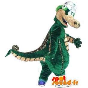 Maskot Lezard Denver - Dinosaurus všechny velikosti - MASFR001493 - Dinosaur Maskot