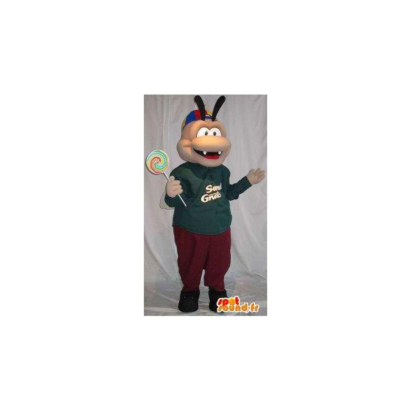 Mascot Track - Disponibilita di - MASFR001494 - Insetto mascotte