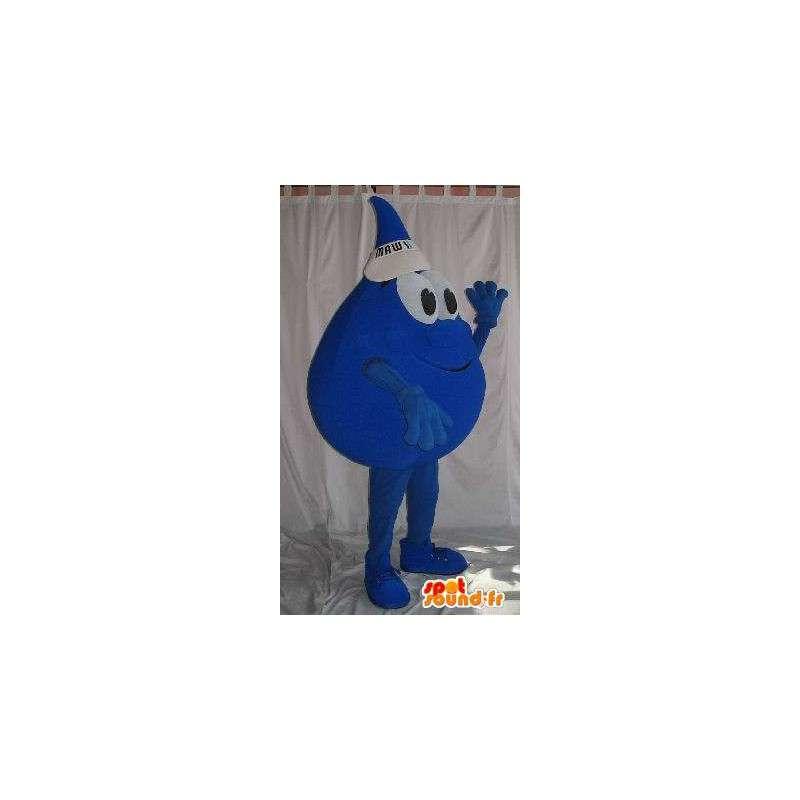 Disguise Tropfen mit Kappe - Plüsch-Maskottchen - MASFR001527 - Maskottchen nicht klassifizierte