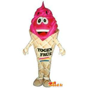 Ice cream cone mascot berries - Disguise quality - MASFR001528 - Fast food mascots