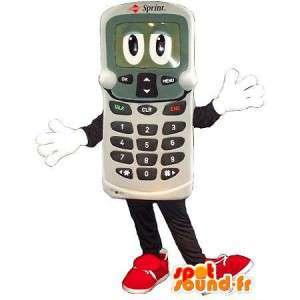 Mobiltelefon förklädnad - Kvalitetsmaskot - Spotsound maskot