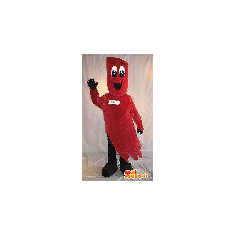 Disfraz de estrella fugaz roja - la mascota de la felpa - MASFR001539 - Mascotas sin clasificar
