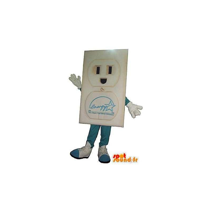 コンセントのキャラクターの衣装 - MASFR001544 - 非機密扱いのマスコット