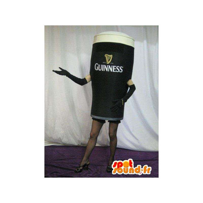 Mascot glass of Guinness - Disguise quality - MASFR001547 - Mascots of objects