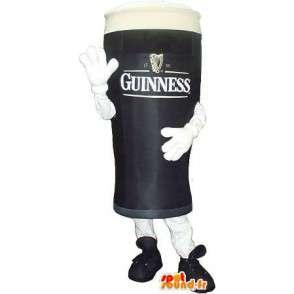 Mascotte verre de Guinness - Déguisement de qualité - MASFR001547 - Mascottes d'objets
