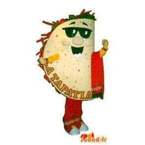 Disguise Tapas - kunden Maskottchen - MASFR001561 - Fast-Food-Maskottchen