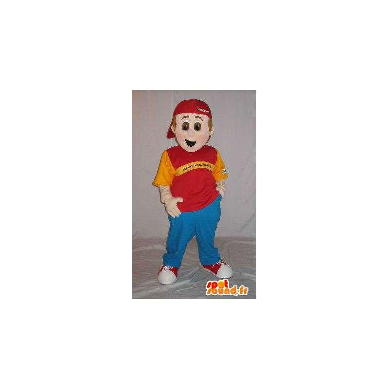 Casual jonge mascotte hip-hop stijl - MASFR001571 - Mascottes Boys and Girls