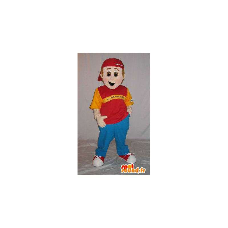 Dorywczo młody maskotka Hiphopowy - MASFR001571 - Maskotki Boys and Girls