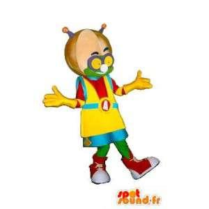 火星のマスコットヒップホップスタイル、カジュアルな変装-MASFR001576-男性のマスコット