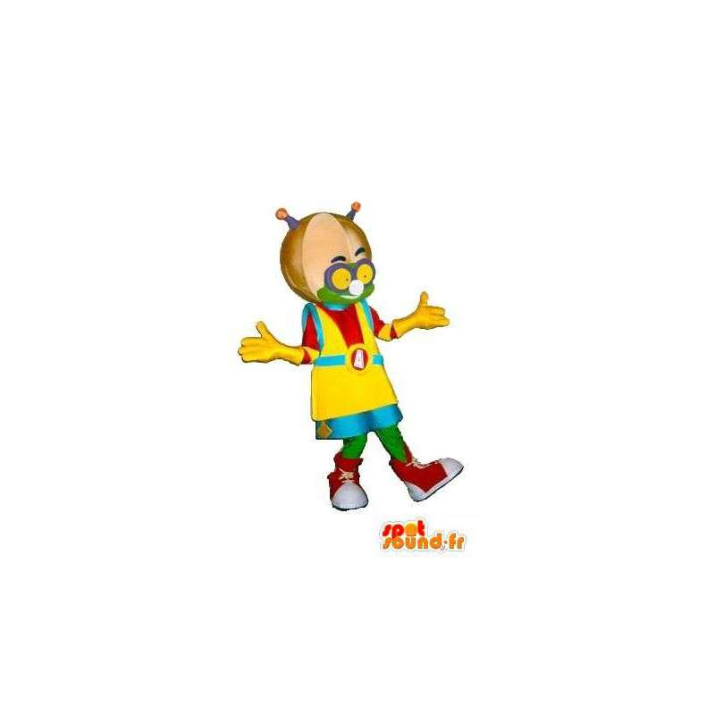 Martian mascot hip-hop, casual disguise - MASFR001576 - Human mascots