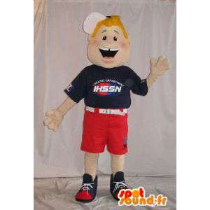 Μασκότ αμερικανική αγόρι σε σύντομο παντελόνι - MASFR001578 - Μασκότ Αγόρια και κορίτσια
