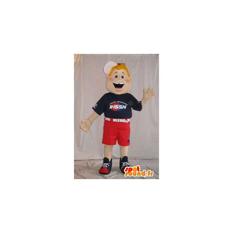 American mascot boy shorts - MASFR001578 - Mascots boys and girls