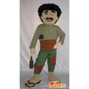 Costume d'un personnage borgne, alcoolique aux dents cassées - MASFR001586 - Mascottes Homme