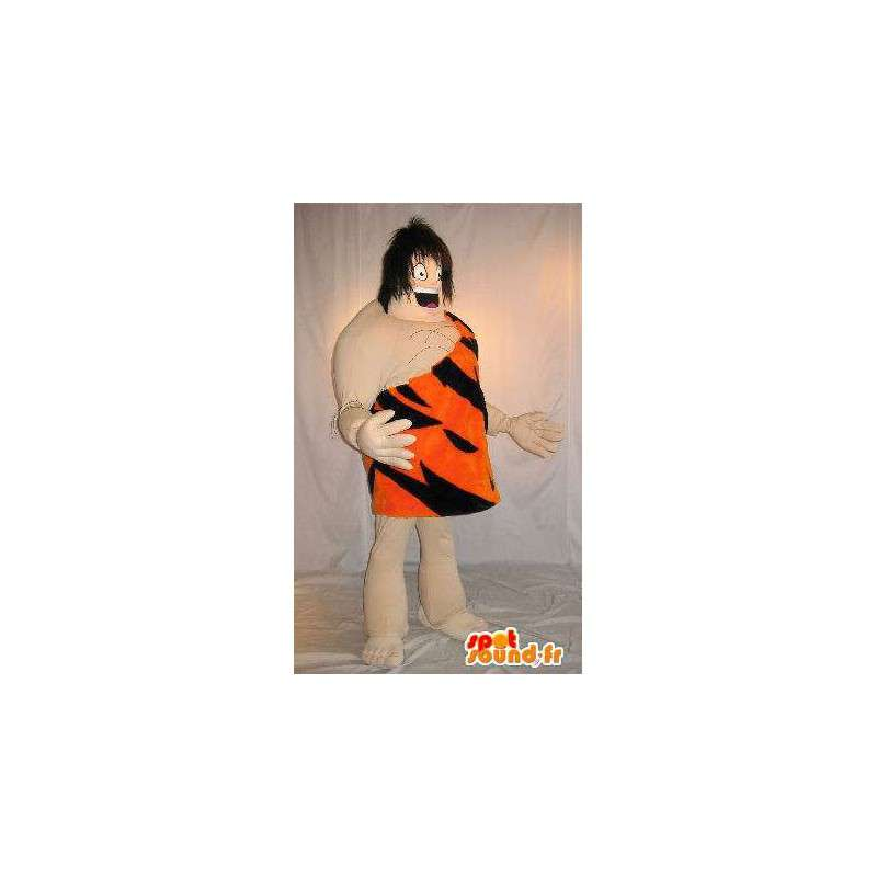 Mascot van Tarzan, de koning van de jungle, gekleed in tiger - MASFR001587 - Tiger Mascottes