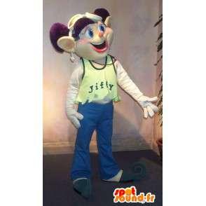 Elf citta Mascot a guardare alla moda giovane - MASFR001590 - Mascotte animale mancante