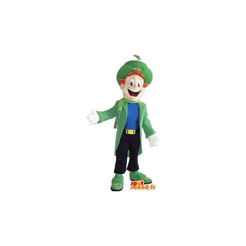 Maskot muž, oblečený manekýn s třídou - MASFR001605 - Man Maskoti