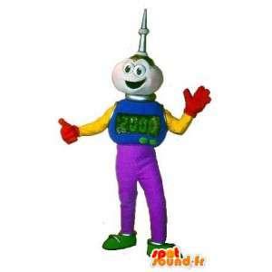 A mascot character alien 2000