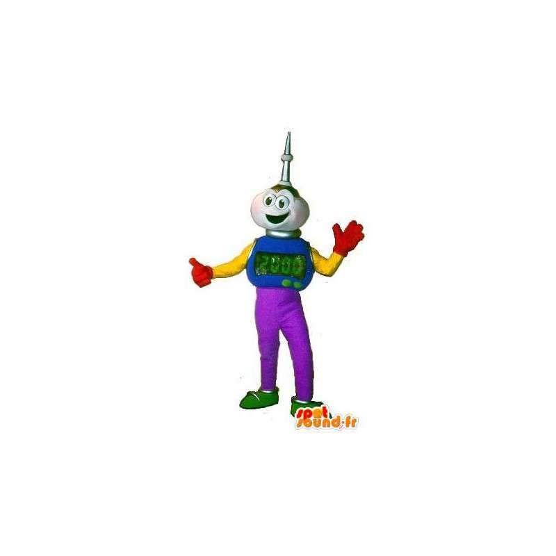 Mascot karakter av en fremmed, 2000 - MASFR001606 - utdødde dyr Maskoter