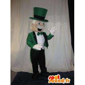 Casino leal mascote Mr. Special  - MASFR001607 - Mascotes homem
