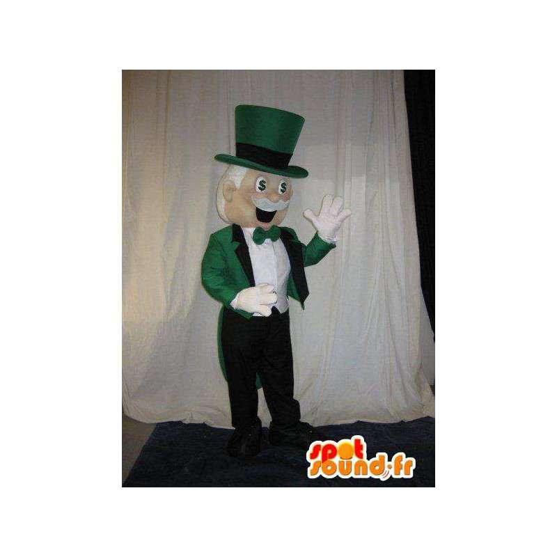 Maskot Mr. Speciální loajální casino - MASFR001607 - Man Maskoti