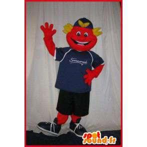 Mascot smilende tenåring med sporty - MASFR001608 - sport maskot