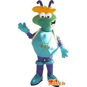 Criatura do espaço mascote pela moda astronauta - MASFR001610 - animais extintos mascotes