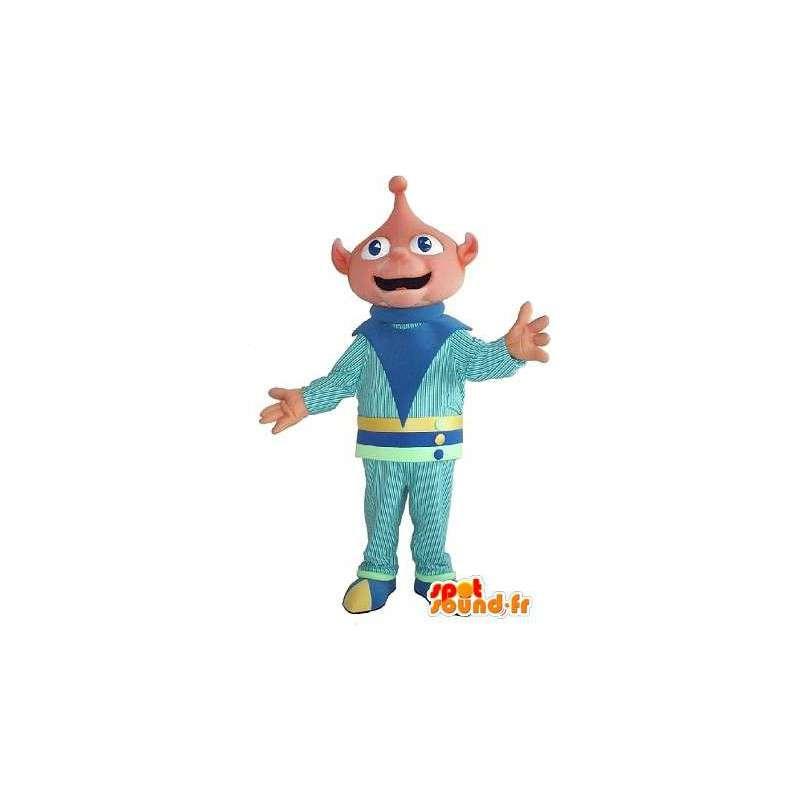 Mascot monnik van een nieuw tijdperk sekte - MASFR001611 - man Mascottes