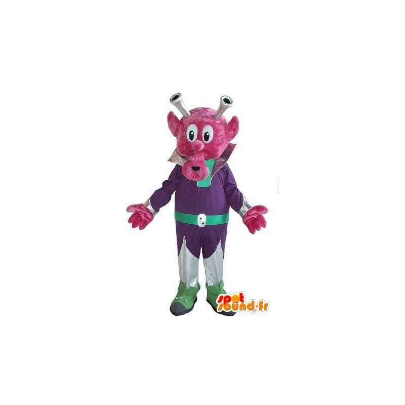 Mascot espacio criatura, moda significativo a nivel local - MASFR001612 - Mascotas animales desaparecidas