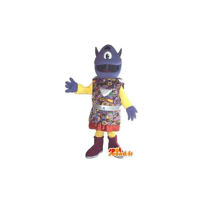 Mascot beäugte fremd in traditioneller Tracht - MASFR001613 - Fehlende tierische Maskottchen