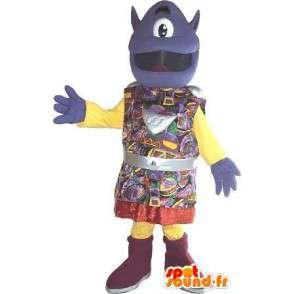 Mascotte d'extraterrestre borgne, en costume traditionnel - MASFR001613 - Mascottes animaux disparus