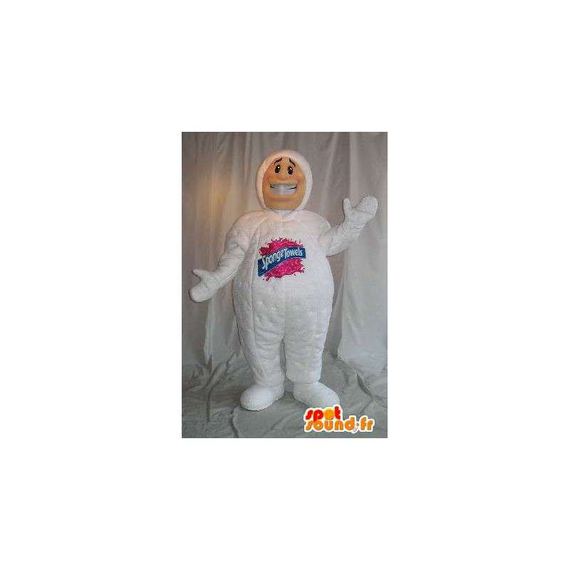 Mascot spons man, sponger handdoeken - MASFR001621 - man Mascottes