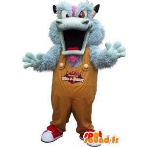 Mascotte monstre en peluche pour Halloween