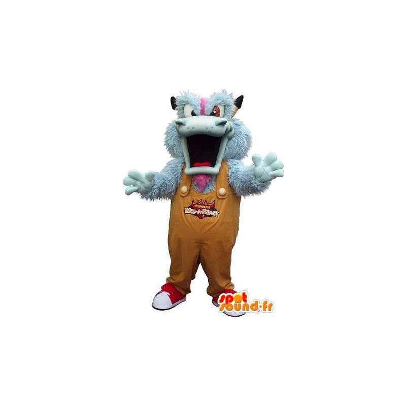 Monstrum Maskot Plyšová Halloween - MASFR001623 - Maskoti netvoři