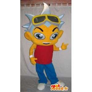 Mascotte d'un personnage de manga, en provenance du Japon