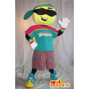 Pelota de tenis Mascot Character, disfraz deporte - MASFR001628 - Mascota de deportes