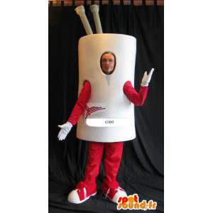 Coffee cup mascot costume cookware