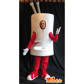 Coffee cup mascot costume cookware - MASFR001631 - Mascots of objects