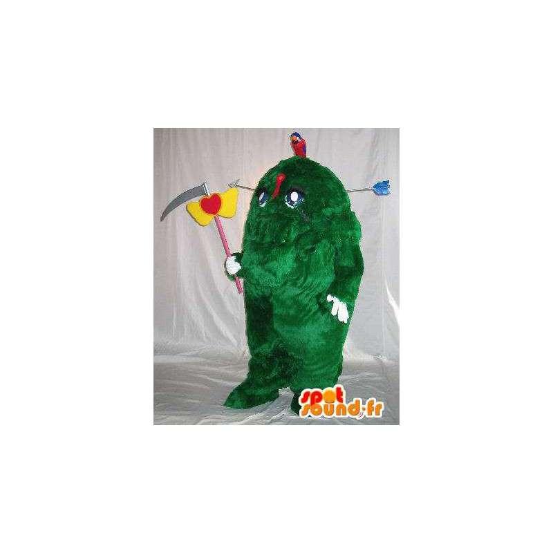 Hedge beängstigend Maskottchen Kostüm Monster Welle - MASFR001646 - Maskottchen der Pflanzen