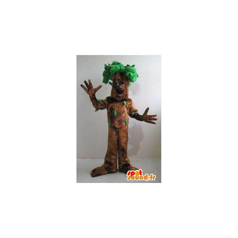 Tre karakter maskot kostyme skogen - MASFR001647 - Maskoter planter