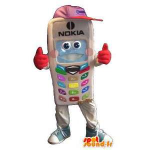 Nokia Phone maskotti puku puhelinliikenteen  - MASFR001654 - Mascottes de téléphones